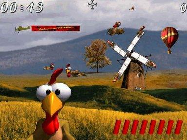 Hühner Abschießen